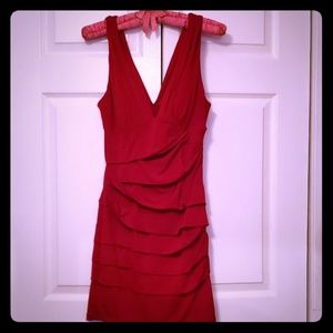 City Triangles Red Mini Dress, US Size Large